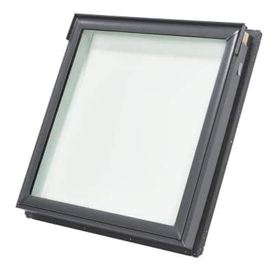 Truss Series 22-1/2 in. x 23 in. Fixed Deck-Mount Skylight with Laminated Low-E3 Glass