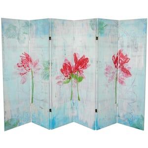 5 ft. Printed 6-Panel Room Divider