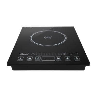 1800W Single Burner 11 in. Black Hot Plate with Temperature Controls