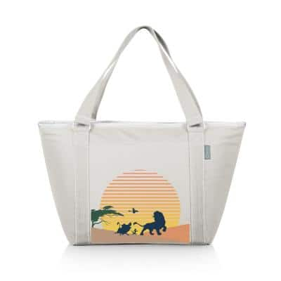 9 Qt. 24-Can Lion King Topanga Tote Cooler in Sand