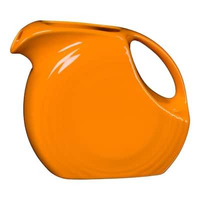67.25 oz. Butterscotch Ceramic Large Disk Pitcher