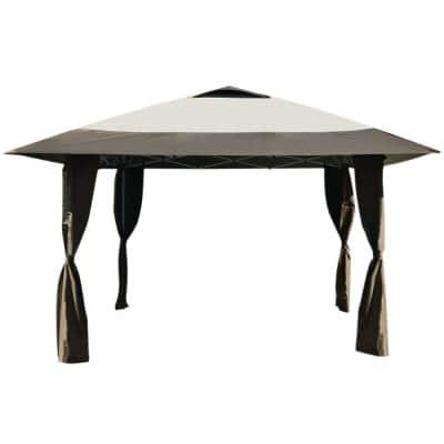 Haven Instant Canopy 12 ft 7 in. x 12 Ft x 7 in. Beige/Brown Canopy