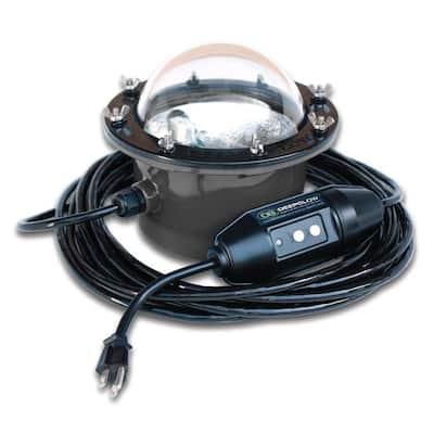 Green Underwater Light for Salt or Freshwater