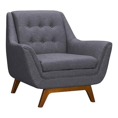 Janson Dark Grey Fabric Sofa Chair