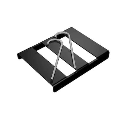 Black Splice Buckle