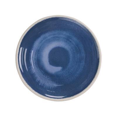 Raku Blue Melamine Salad Plate