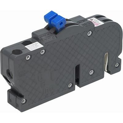 New UBIZ Thin 15 Amp/15 Amp 1-Pole Zinsco Twin Replacement Circuit Breaker