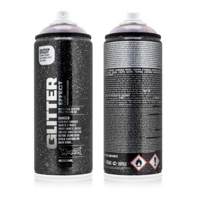 10 oz. Glitter Effect Spray Paint, X-Mas Red