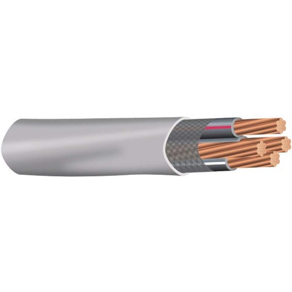4 Core White Burglar Alarm Cable 50 Metres.. 15 Choose Length 3 10 5 20