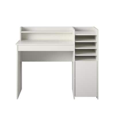 Caley 42.28 in. White Craft Desk