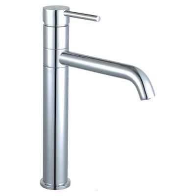 Kaia Single Hole Single-Handle Vessel Bathroom Faucet with Swivel Spout in Polished Chrome