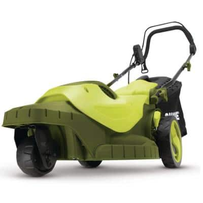 16 in. 12 Amp 360-degree 3-Wheel Corded Electric Walk-Behind Push Lawn Mower