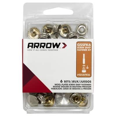 Screw and Snap Fastener Kit