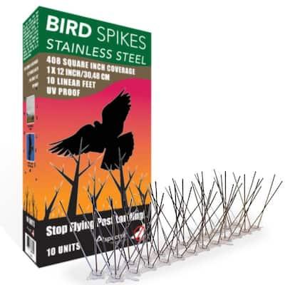 10 ft. Stainless Steel Bird Spikes