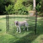48 in. High Heavy Duty Exercise Pen with Stakes