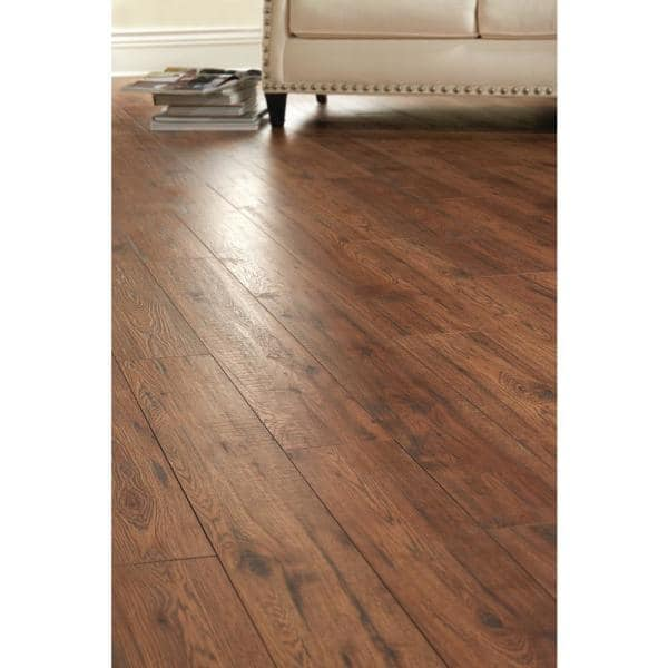 Home Decorators Collection Distressed, 12mm Thick Laminate Flooring