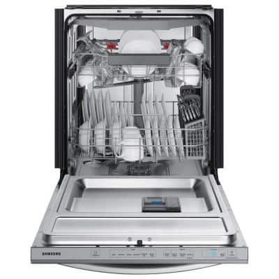 24 in. Top Control Tall Tub Dishwasher in Fingerprint Resistant Stainless Steel with AutoRelease, 3rd Rack, 42 dBA
