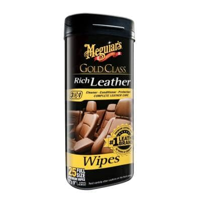 Automotive Gold Class Leather Conditioner (25-Wipes)
