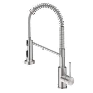 Bolden Single-Handle , Pull-Down Sprayer Kitchen Faucet Water Filtration System in Spot Free Stainless Steel