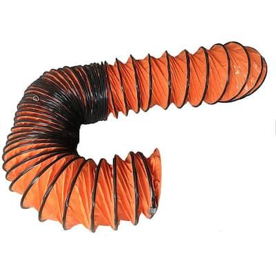 Flexible Ducting Hose, 12 in. x 25 ft., Orange