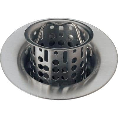 Classic Collection 4 in. Kitchen Sink Flange and Strainer