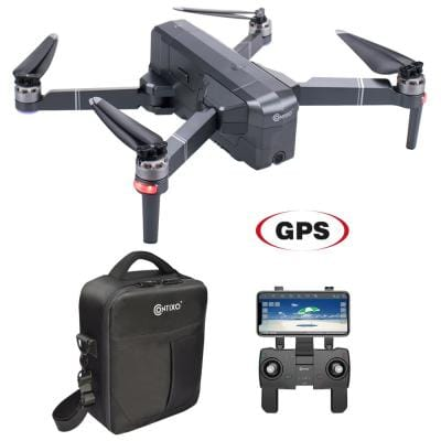 F24 RC Black Quadcopter Drone 1080P WiFi Camera Live Video Photos Altitude RTH GPS FPV Brushless Motors