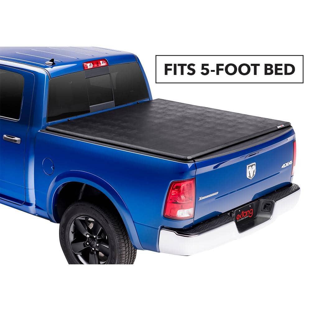 Tri-Fold Hard Tonneau Cover LW For 00-04 Dodge Dakota Quad//Crew 5.5 Ft Short Bed