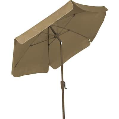 7.5 ft. Market Tilt Patio Umbrella in Beige