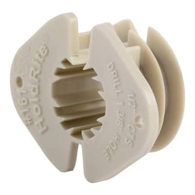 1/2 in. Plastic Thru-Stud Isolator (15-Pack)