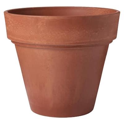 Traditional 21-1/2 in. x 20 in. Terra Cotta PSW Pot