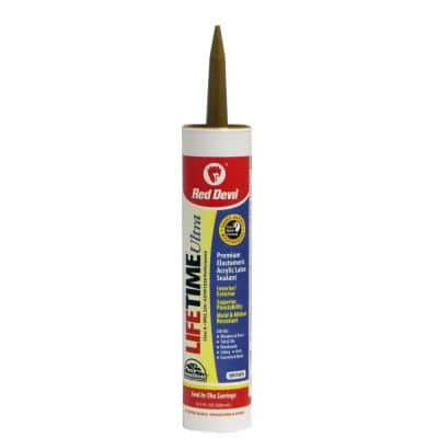 Ultra 10.1 oz. Brown Acrylic Latex Caulk