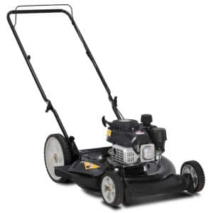 21 in. 132 cc OHV Powermore Gas Walk Behind Push Lawn Mower with High Rear Wheels
