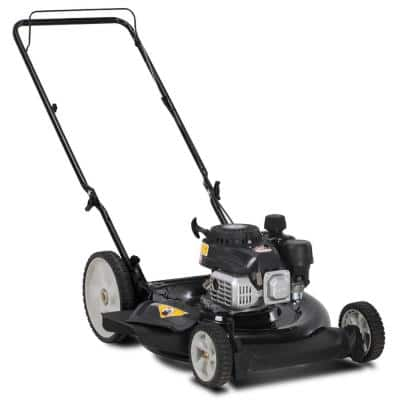 21 in. 132 cc OHV Powermore Gas Walk Behind Push Lawn Mower with High Rear Wheels