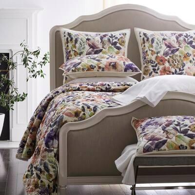 Watercolor Floral Legends® Luxury Quilt