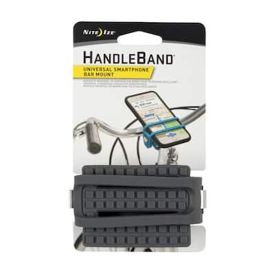 HandleBand Universal Smartphone Bar Mount, Charcoal