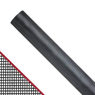 48 in. x 100 ft. Charcoal Fiberglass Extra Strength Window and Door Screen Roll