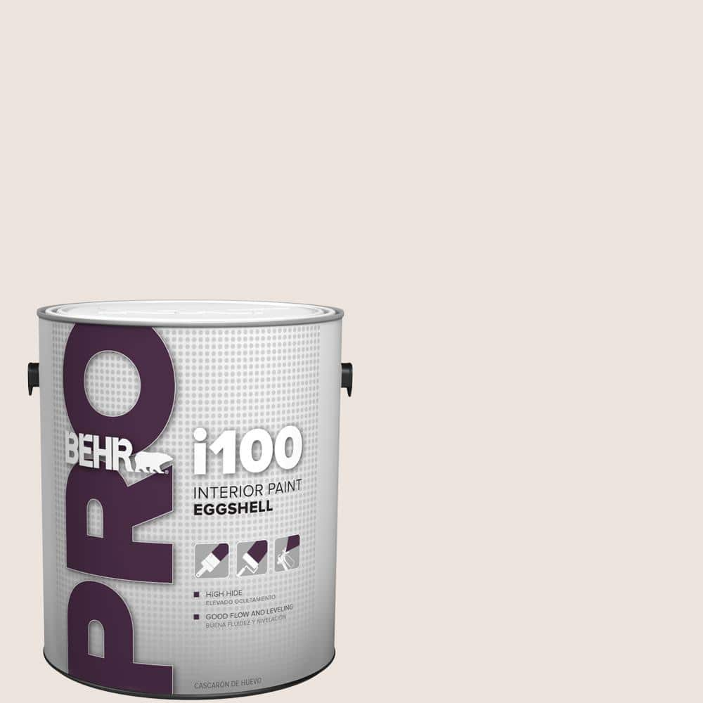 Behr Pro 1 Gal Rd W07 Cave Pearl Eggshell Interior Paint Pr13001 The Home Depot
