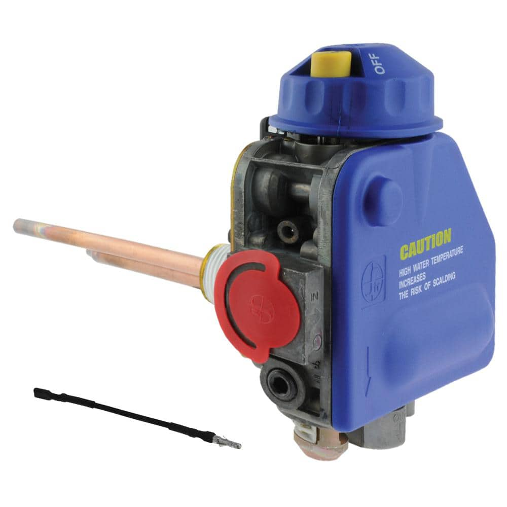 Rheem Protech Delta Sit Gas Control Valve With 0 75 In Shank Length Ng For Sure Comfort Water Heaters Sp20303a The Home Depot