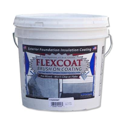 2 Gal. Foundation Grey FlexCoat Brush on Foundation Coating