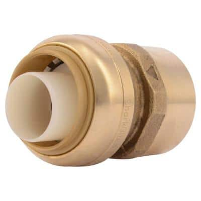 1 in. Push-to-Connect x FIP Brass Adapter Fitting