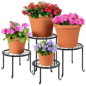 Indoor/Outdoor Metal Plant Stands (4-Tiered)