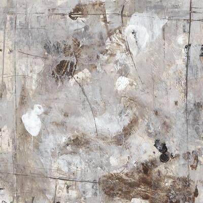 """72 in. x 72 in. """"Neutral Jostle II"""" by Tim OToole Canvas Wall Art"""