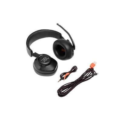 JBL Quantum 400 USB Over-Ear Gaming Headset in Black