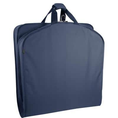 40 in. Navy Garment Bag with Handles