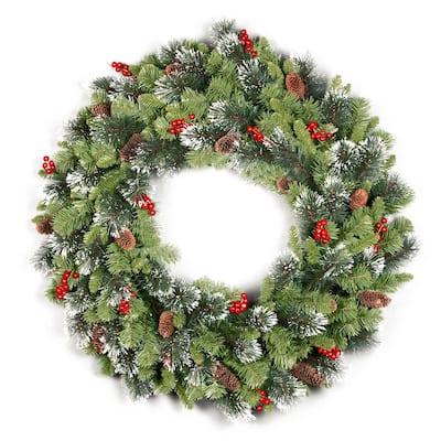 36 in. Crestwood Spruce Wreath