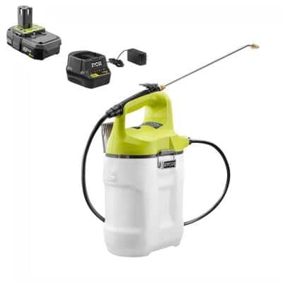 ONE+ 18V Lithium-Ion Cordless 2 Gal. Battery Chemical Sprayer - 2.0 Ah Battery and Charger Included