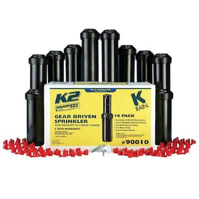 5 in. K2 Gear Drive Sprinklers (10-Pack)