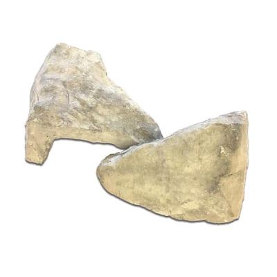 Bull Run Field Stone Corners 4 in. to 12 in. x 2.5 in. x 4 in. Manufactured Stone Field Stone Corners 8 lf. ft. Pack