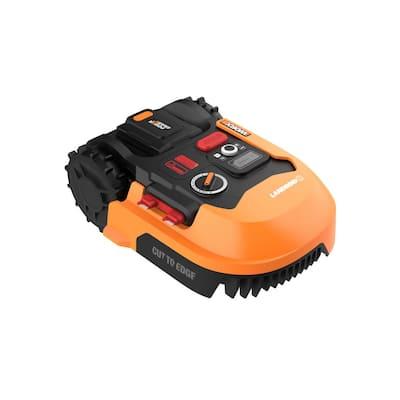 Power Share 20-Volt 7 in. 2.0 Ah Robotic Landroid Mower, Brushless Wheel Motors, Wifi Plus Phone App, 1/8 acre