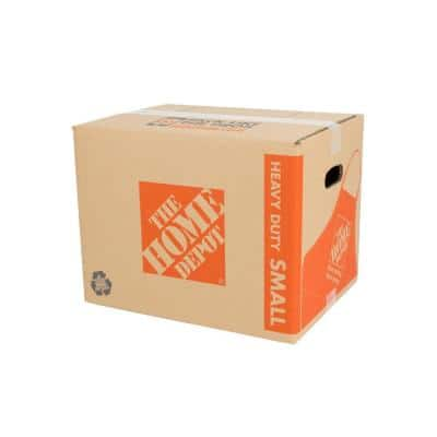 Heavy-Duty Small Moving Box with Handles 25-Pack (16 in. L x 12 in. W x 12 in. D)